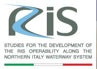 Studies for the development of the RIS operability along the northern Italy waterway system